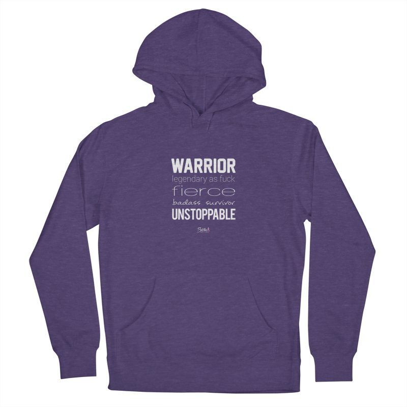 Warrior Men's French Terry Pullover Hoody by Betches Guide to Cancer Shop