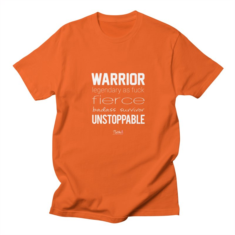 Warrior Men's Regular T-Shirt by Betches Guide to Cancer Shop