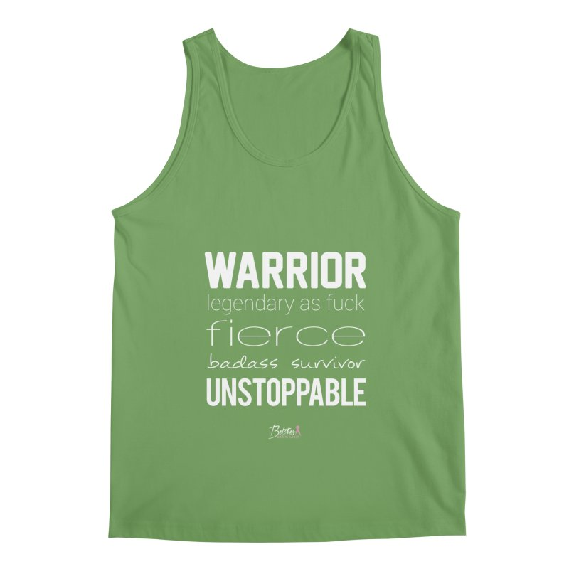 Warrior Men's Tank by Betches Guide to Cancer Shop
