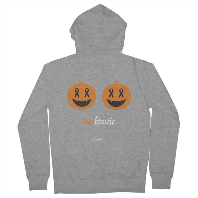 Boobtastic - Halloween Women's Zip-Up Hoody by Betches Guide to Cancer Shop