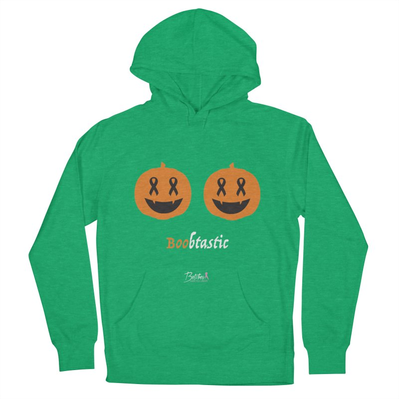 Boobtastic - Halloween Women's French Terry Pullover Hoody by Betches Guide to Cancer Shop