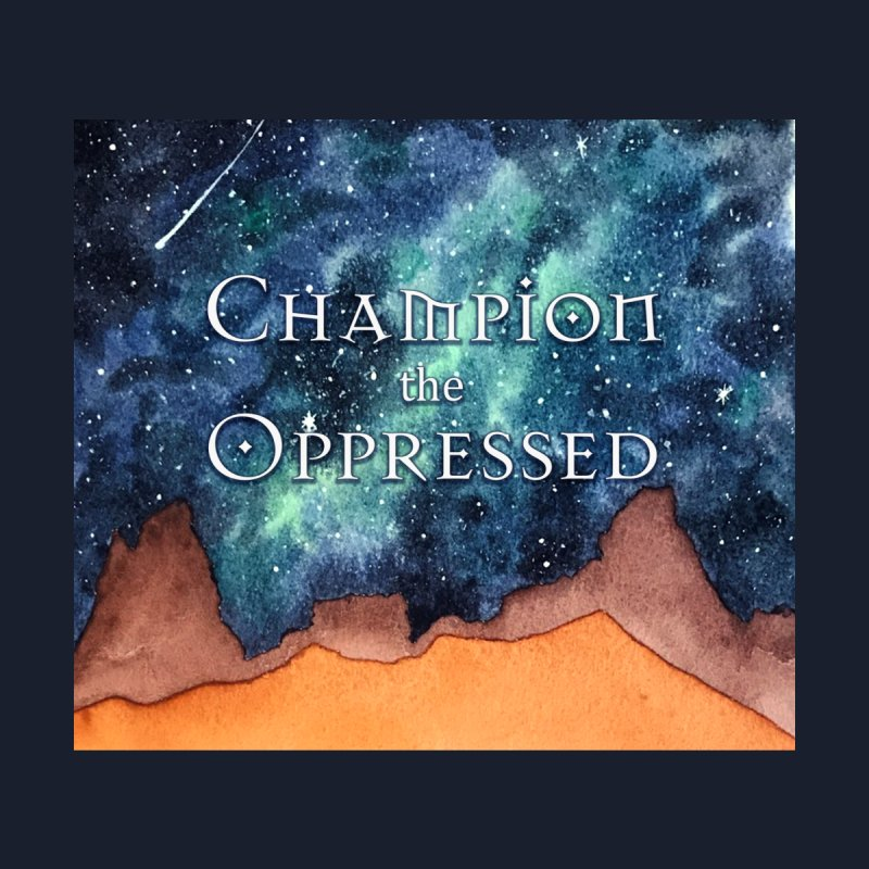 Champion the Oppressed Men's Shoes by Beth Wangler Merch