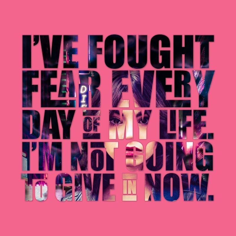 Fight Fear Men's T-Shirt by Beth Wangler Merch
