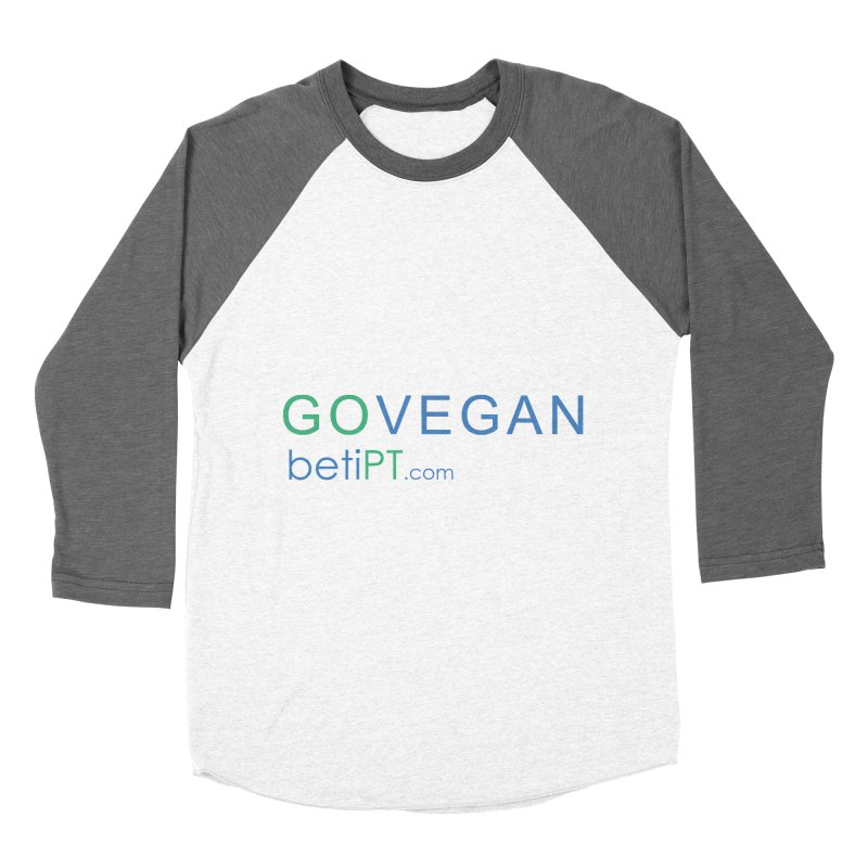 Go Vegan Women's Longsleeve T-Shirt by betiPT's Artist Shop