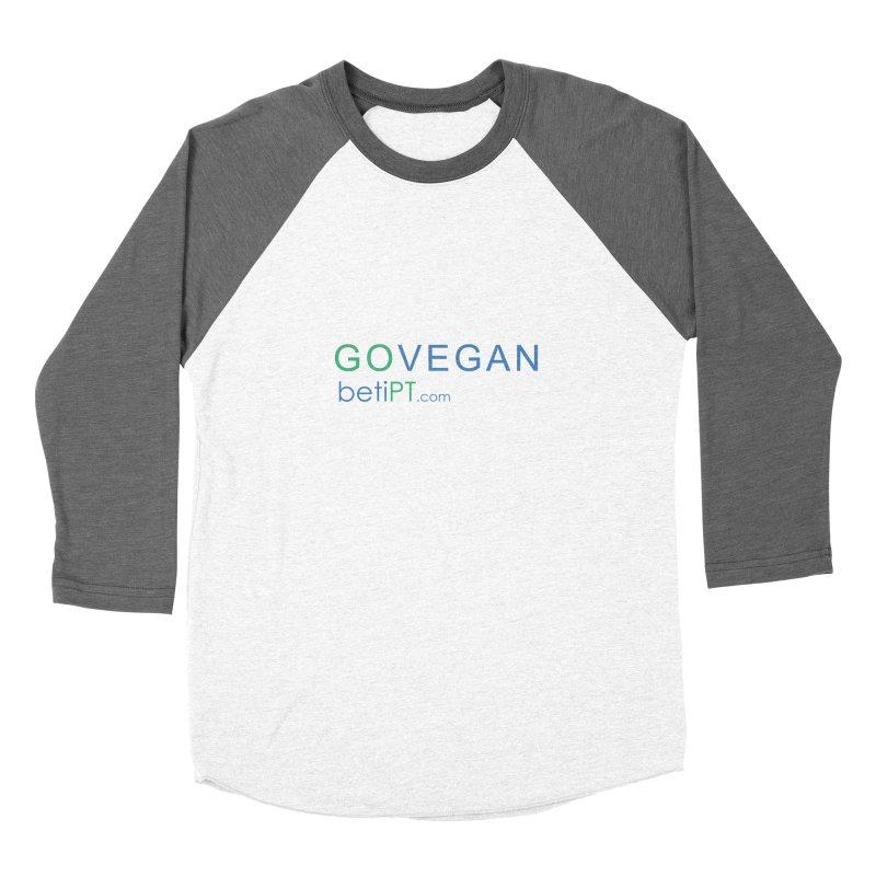 Go Vegan Women's Longsleeve T-Shirt by betiPT's Artist Shop