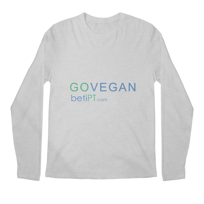 Go Vegan Men's Regular Longsleeve T-Shirt by betiPT's Artist Shop
