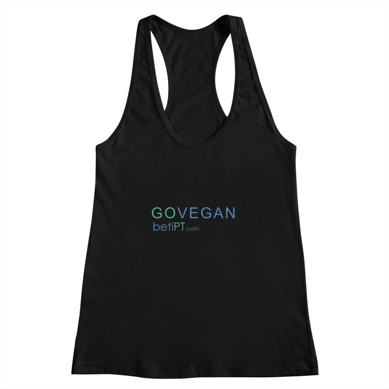 Go Vegan Women's Tank by betiPT's Artist Shop
