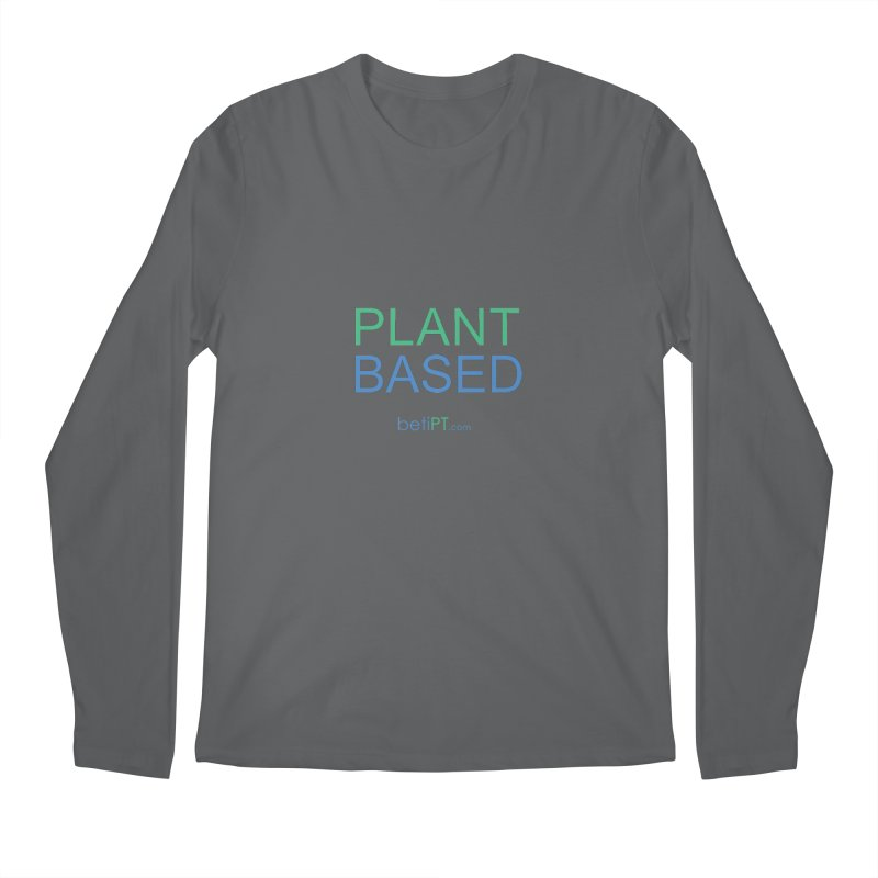 Plant Based Men's Longsleeve T-Shirt by betiPT's Artist Shop