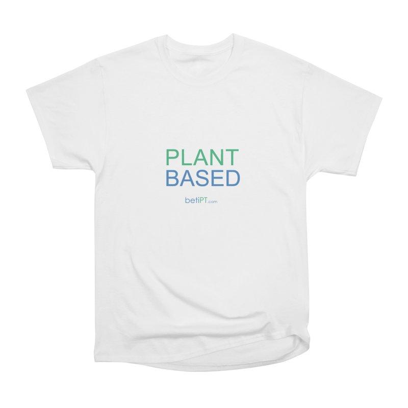 Plant Based Men's Heavyweight T-Shirt by betiPT's Artist Shop