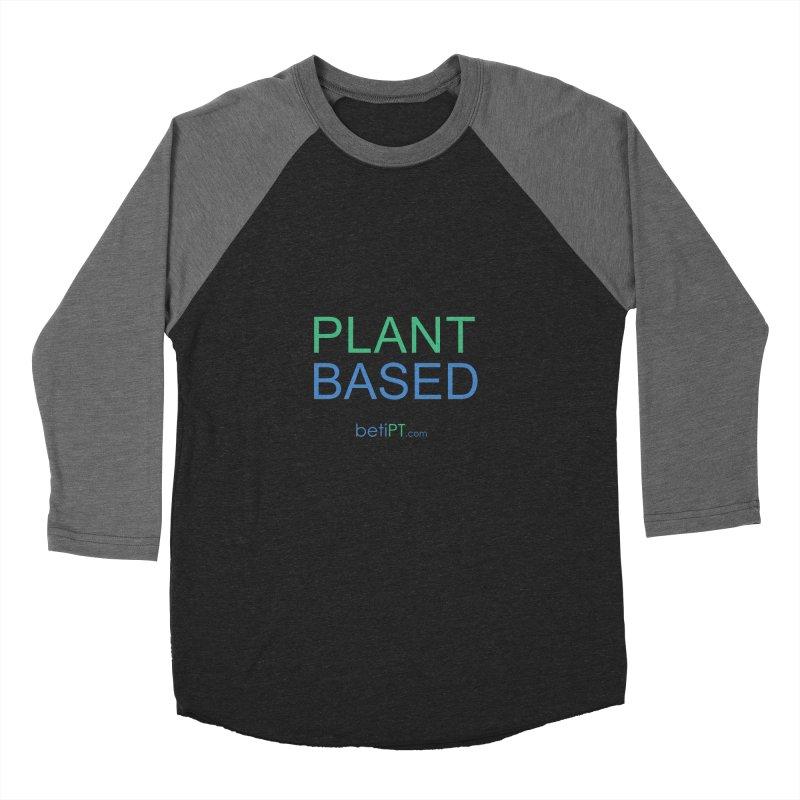 Plant Based Men's Baseball Triblend Longsleeve T-Shirt by betiPT's Artist Shop