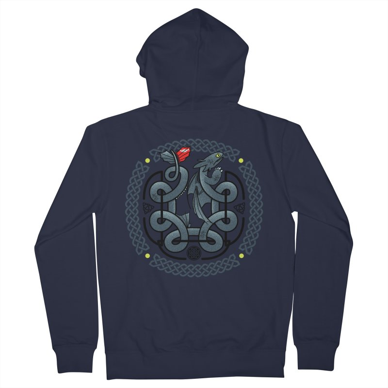 The Dragon's Knot Men's Zip-Up Hoody by beware1984's Artist Shop