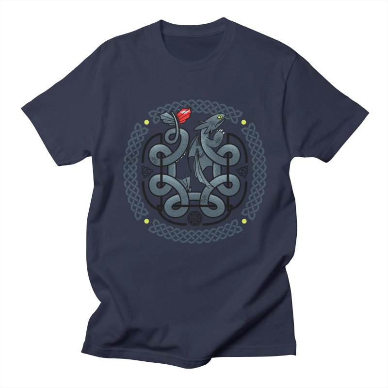The Dragon's Knot Men's T-shirt by beware1984's Artist Shop