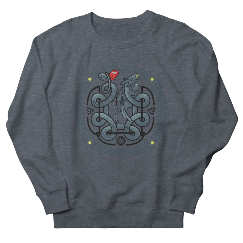 The Dragon's Knot Men's Sweatshirt by beware1984's Artist Shop