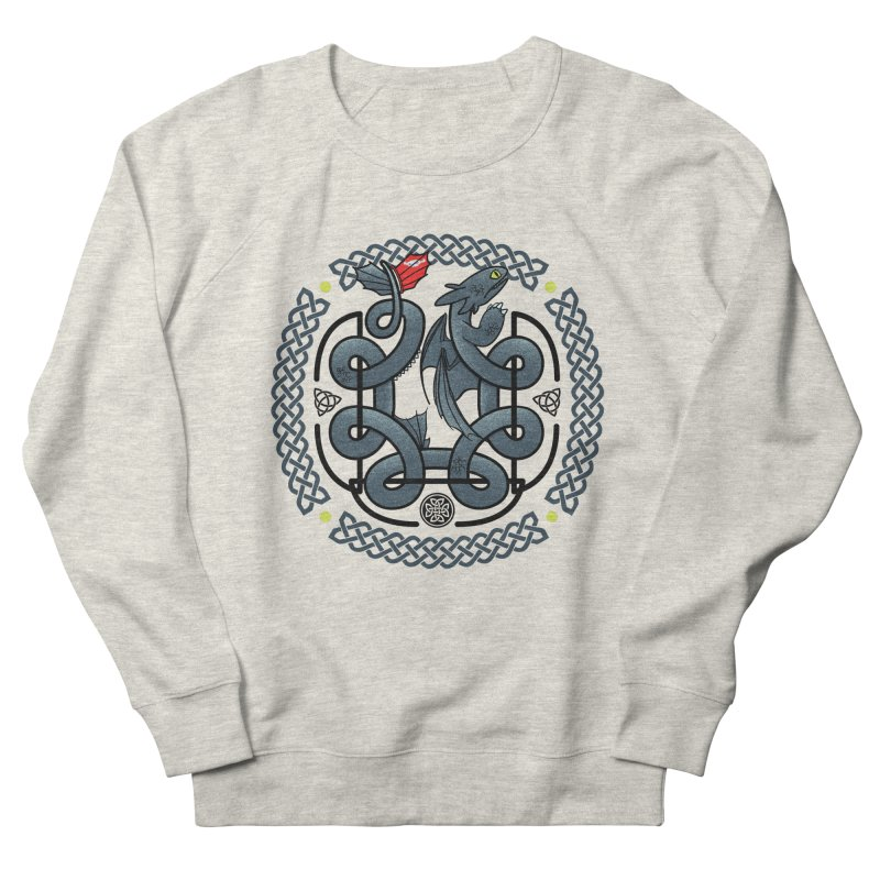The Dragon's Knot Men's Sweatshirt by beware1984's Artist Shop
