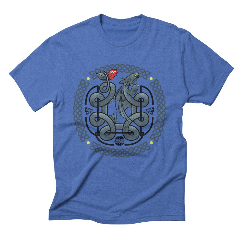 The Dragon's Knot Men's Triblend T-Shirt by beware1984's Artist Shop
