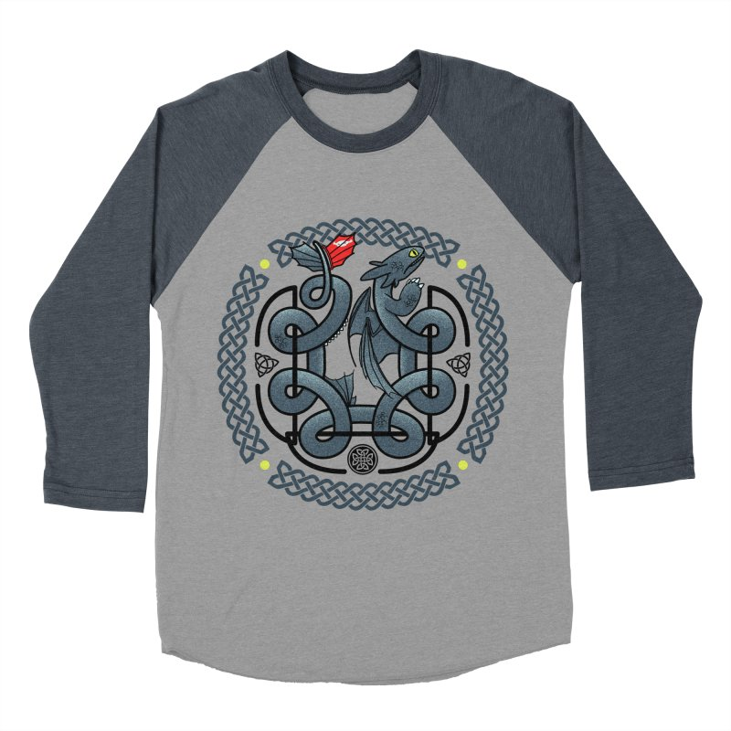 The Dragon's Knot Women's Baseball Triblend T-Shirt by beware1984's Artist Shop