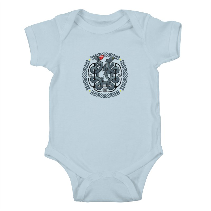 The Dragon's Knot Kids Baby Bodysuit by beware1984's Artist Shop