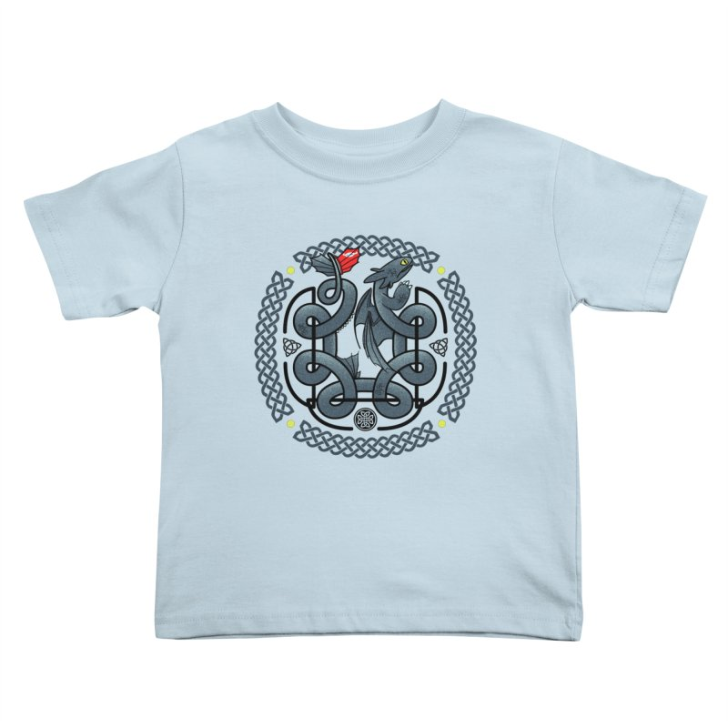 The Dragon's Knot Kids Toddler T-Shirt by beware1984's Artist Shop