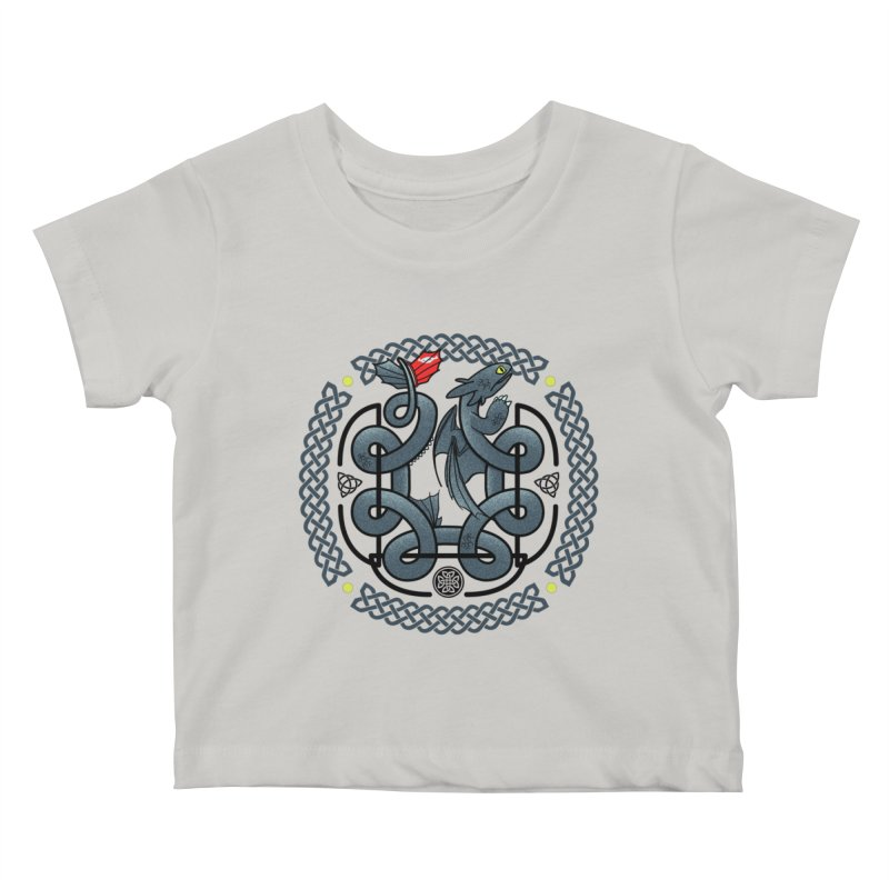 The Dragon's Knot Kids Baby T-Shirt by beware1984's Artist Shop