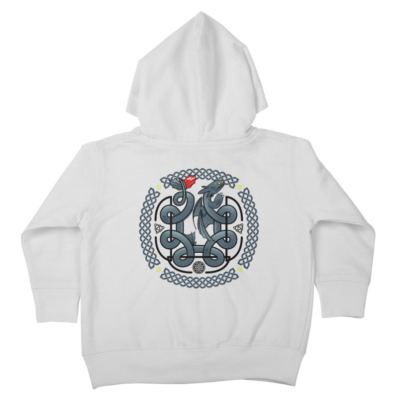 The Dragon's Knot Kids Toddler Zip-Up Hoody by beware1984's Artist Shop