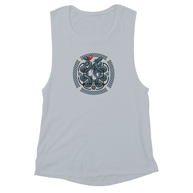 The Dragon's Knot Women's Muscle Tank by beware1984's Artist Shop