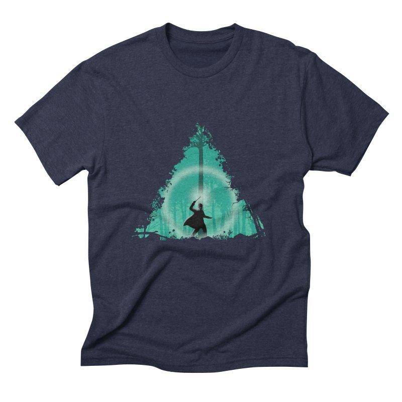 Hallowed Ground Men's Triblend T-shirt by beware1984's Artist Shop