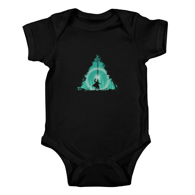 Hallowed Ground Kids Baby Bodysuit by beware1984's Artist Shop