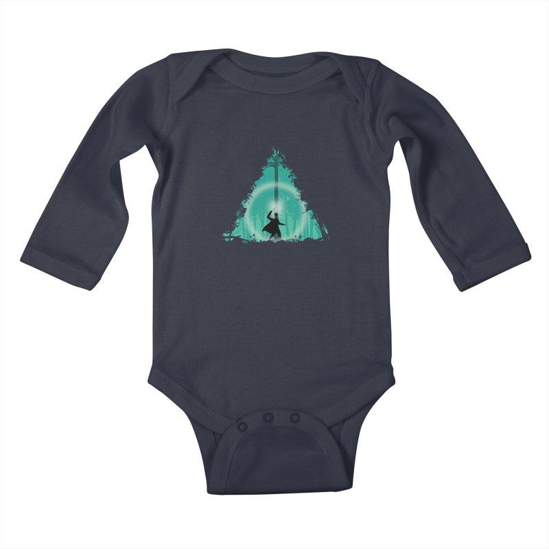 Hallowed Ground Kids Baby Longsleeve Bodysuit by beware1984's Artist Shop