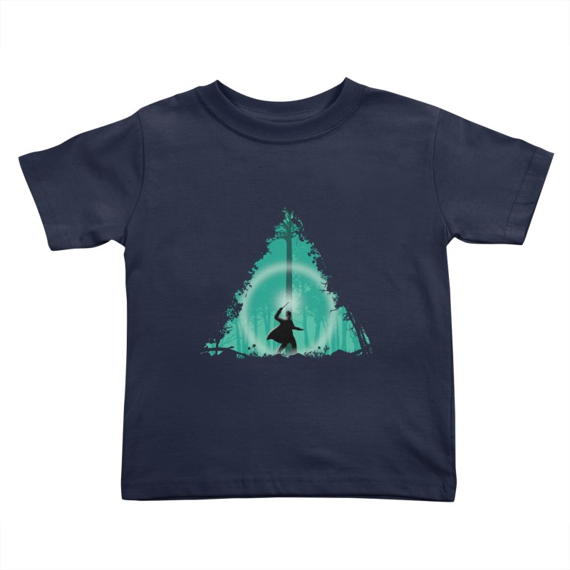 Hallowed Ground Kids Toddler T-Shirt by beware1984's Artist Shop