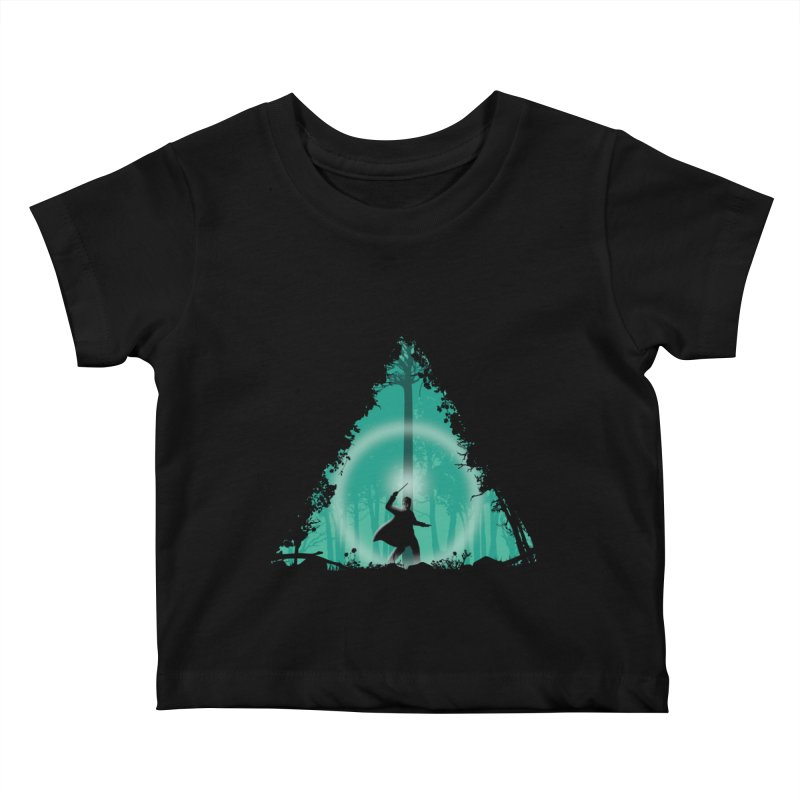 Hallowed Ground Kids Baby T-Shirt by beware1984's Artist Shop