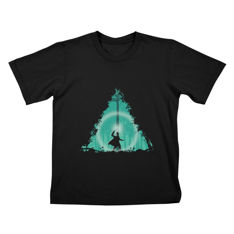 Hallowed Ground Kids T-shirt by beware1984's Artist Shop