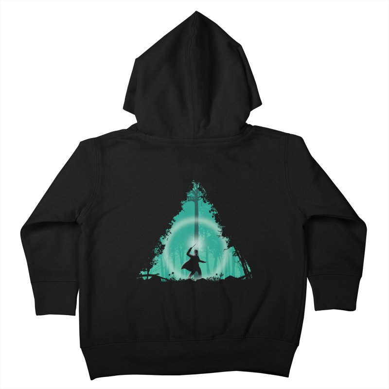 Hallowed Ground Kids Toddler Zip-Up Hoody by beware1984's Artist Shop