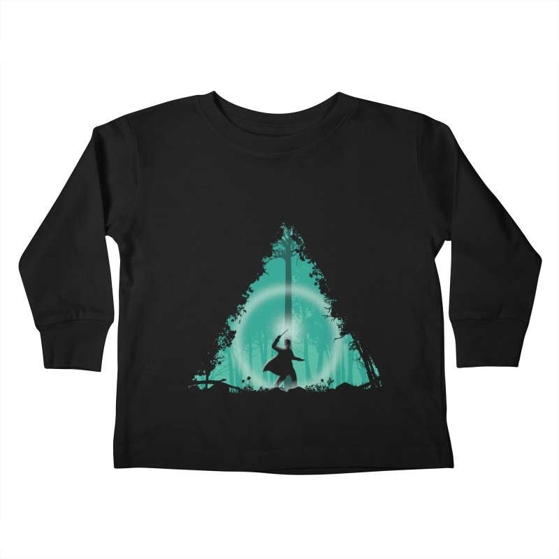 Hallowed Ground Kids Toddler Longsleeve T-Shirt by beware1984's Artist Shop