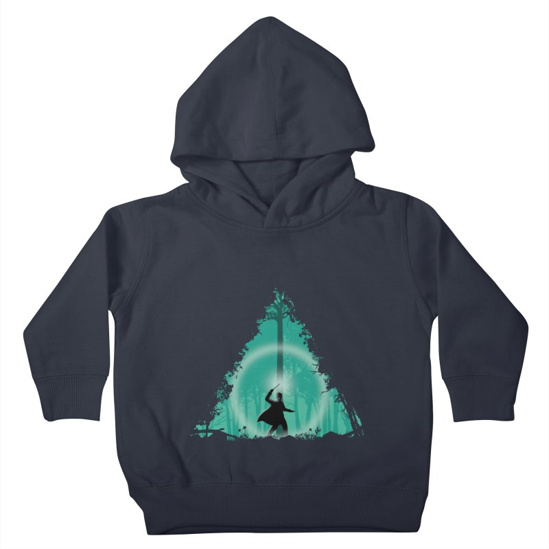 Hallowed Ground Kids Toddler Pullover Hoody by beware1984's Artist Shop
