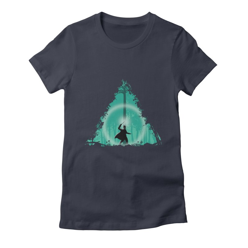 Hallowed Ground Women's Fitted T-Shirt by beware1984's Artist Shop