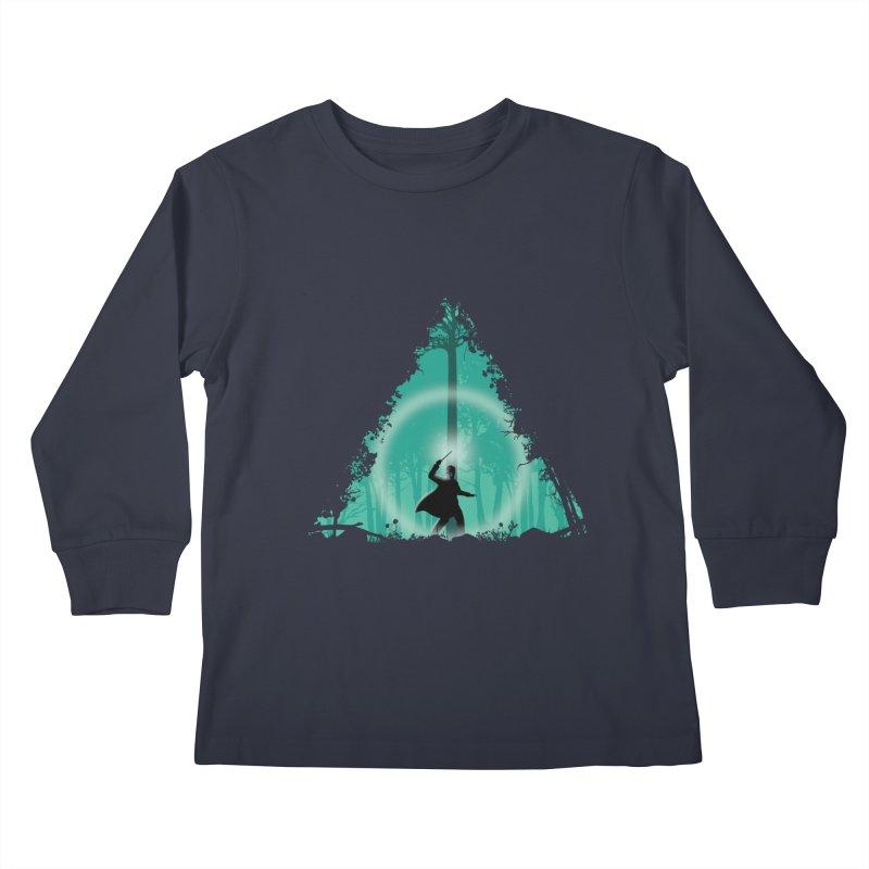 Hallowed Ground Kids Longsleeve T-Shirt by beware1984's Artist Shop