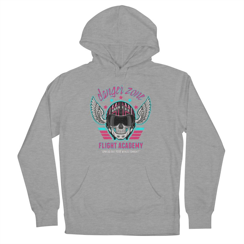 Danger Zone Flight Academy Women's Pullover Hoody by beware1984's Artist Shop