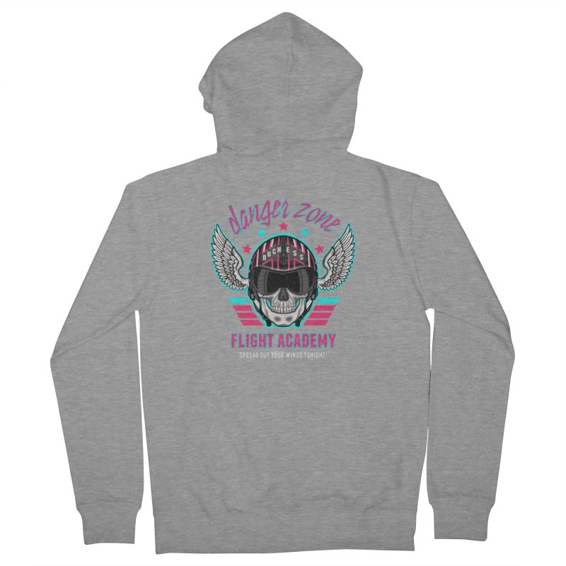 Danger Zone Flight Academy Women's Zip-Up Hoody by beware1984's Artist Shop