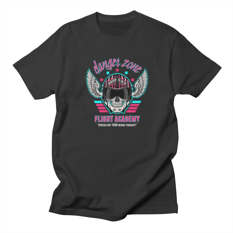 Danger Zone Flight Academy Men's T-shirt by beware1984's Artist Shop