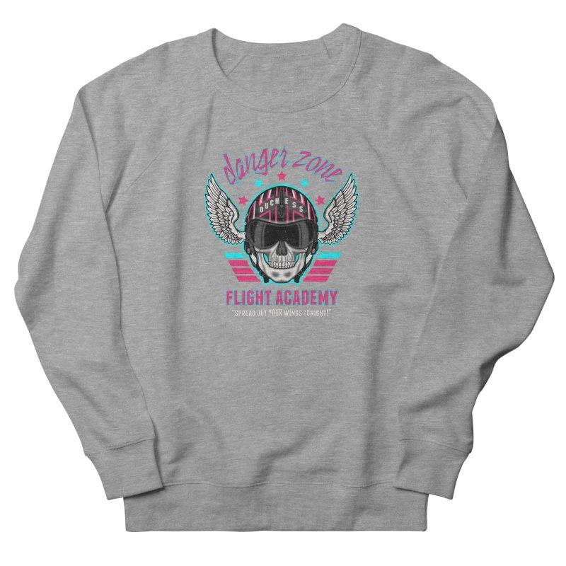 Danger Zone Flight Academy Men's Sweatshirt by beware1984's Artist Shop