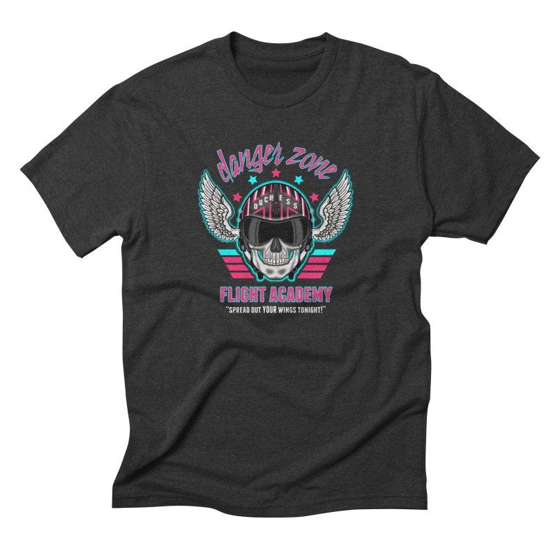 Danger Zone Flight Academy Men's Triblend T-Shirt by beware1984's Artist Shop