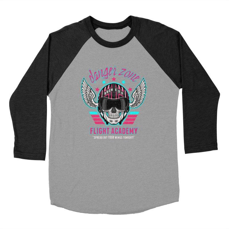 Danger Zone Flight Academy Men's Baseball Triblend T-Shirt by beware1984's Artist Shop