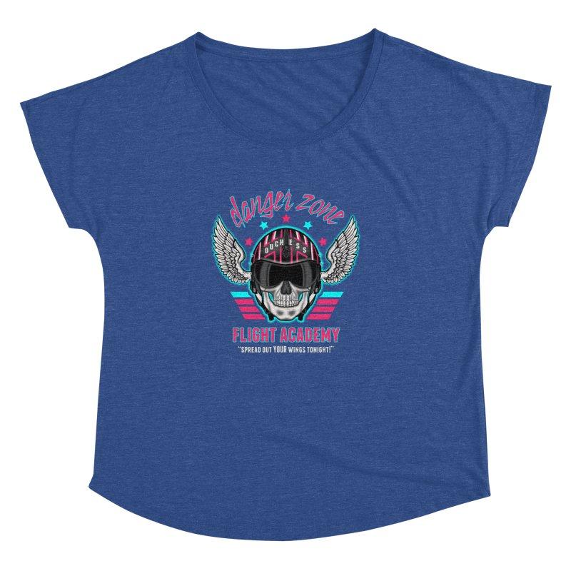 Danger Zone Flight Academy Women's Dolman by beware1984's Artist Shop