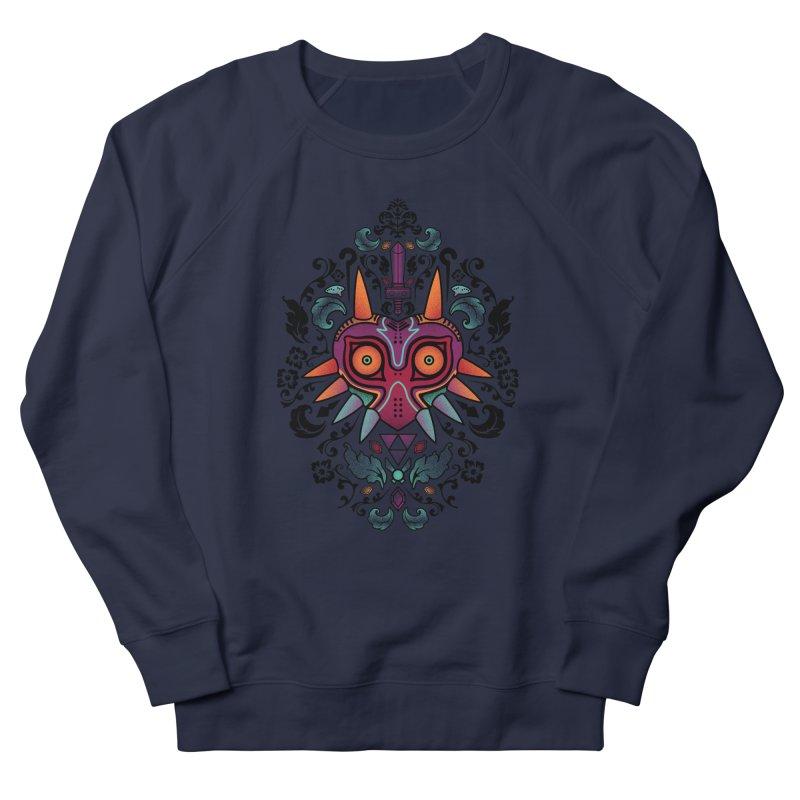 Majora's Damask Men's Sweatshirt by beware1984's Artist Shop