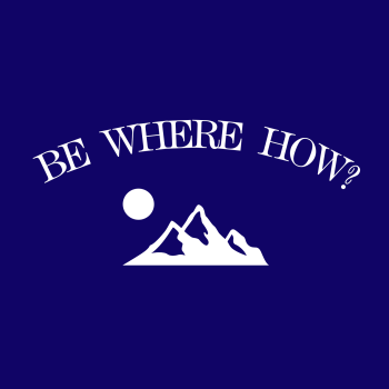 Be Where How? Logo