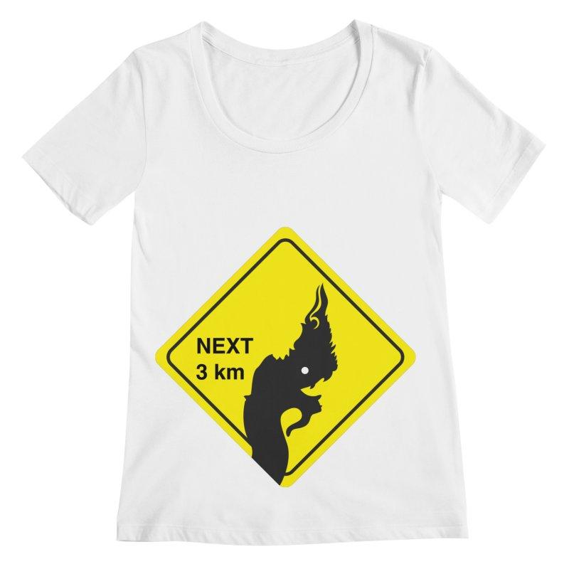Naga ahead Women's Regular Scoop Neck by BeyondMekong   Inspired by SEA Wanderlust