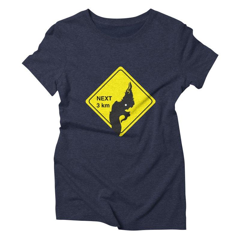 Naga ahead Women's Triblend T-Shirt by BeyondMekong | Inspired by SEA Wanderlust