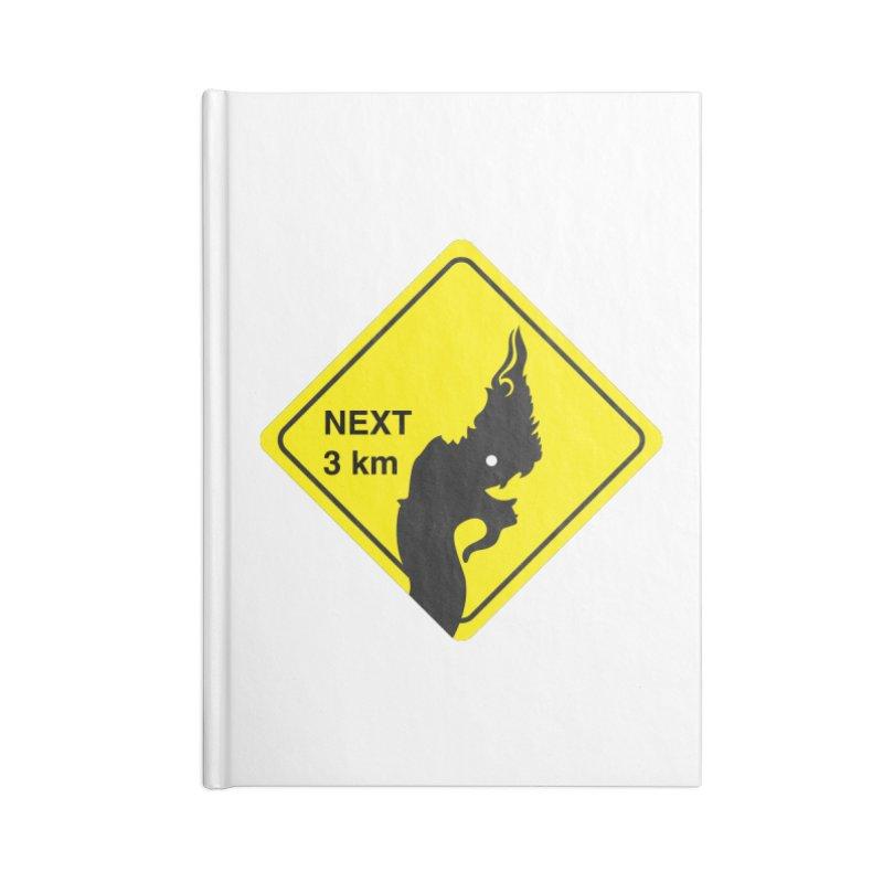 Naga ahead Accessories Lined Journal Notebook by BeyondMekong | Inspired by SEA Wanderlust