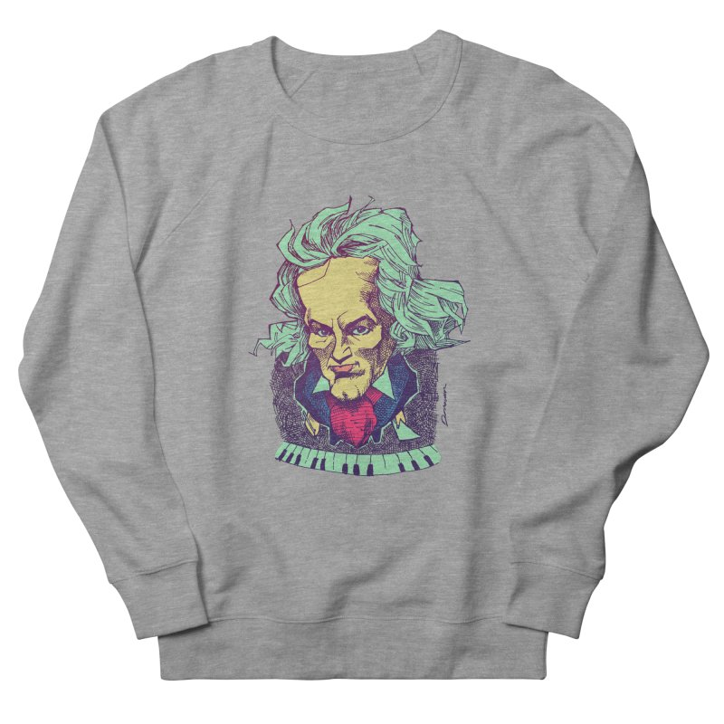 Ludwig Van B Women's Sweatshirt by Donovan Alex's Artist Shop