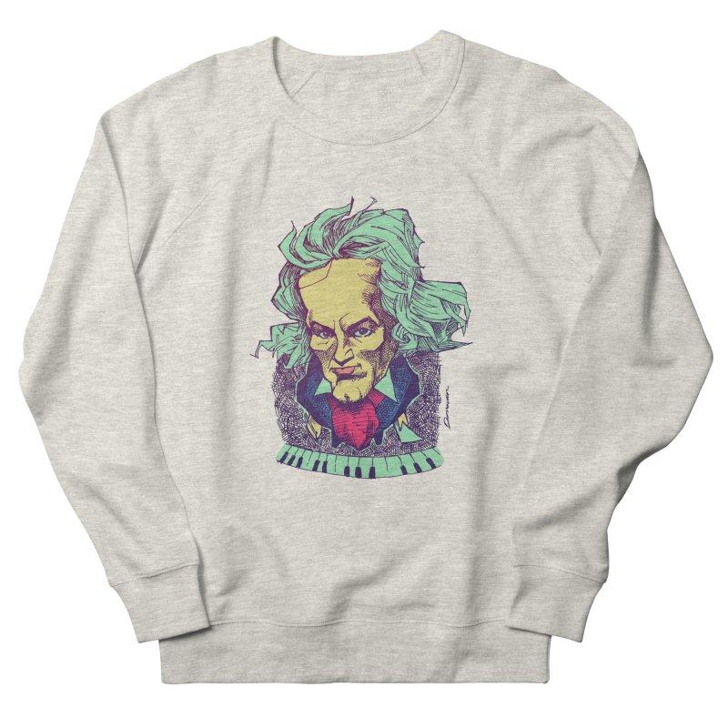 Ludwig Van B Women's Sweatshirt by Donovan Alex's Artist Shop